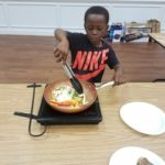 Jr. Chef Competition was heated for our Summer Academy students!